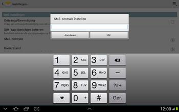 Samsung N8000 Galaxy Note 10-1 - SMS - Handmatig instellen - Stap 6