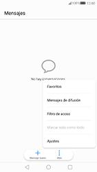 Huawei P10 - Mensajería - Configurar el equipo para mensajes de texto - Paso 5