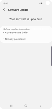 Samsung Galaxy S10e - Device - Software update - Step 8
