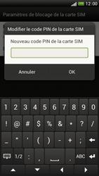 HTC One S - Sécuriser votre mobile - Personnaliser le code PIN de votre carte SIM - Étape 8