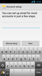 Acer Liquid Z5 - Email - Manual configuration - Step 6