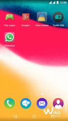 Wiko Rainbow Jam DS - Aplicações - Como configurar o WhatsApp -  4