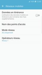 Samsung Samsung G925 Galaxy S6 Edge (Android M) - Réseau - Changer mode réseau - Étape 7