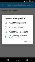 Sony E5823 Xperia Z5 Compact - Android Nougat - Réseau - Changer mode réseau - Étape 7