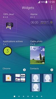 Samsung Galaxy Note 4 - Applications - Personnaliser l