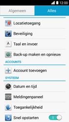 Huawei Ascend Y530 - Toestel reset - terugzetten naar fabrieksinstellingen - Stap 3