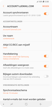 Samsung Galaxy S9 Plus (SM-G965F) - E-mail - Instellingen KPNMail controleren - Stap 9