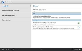 Samsung P7500 Galaxy Tab 10-1 - Internet - Configuration manuelle - Étape 13