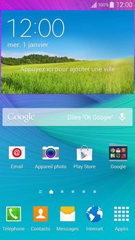 Samsung N910F Galaxy Note 4 - Messagerie vocale - configuration manuelle - Étape 1