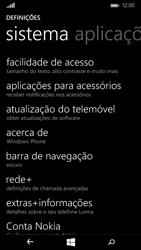 Microsoft Lumia 535 - Repor definições - Como repor definições de fábrica do telemóvel -  5
