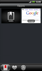 HTC A7272 Desire Z - Internet - Navigation sur internet - Étape 10