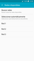 Samsung Galaxy A3 (2016) - Red - Seleccionar una red - Paso 8