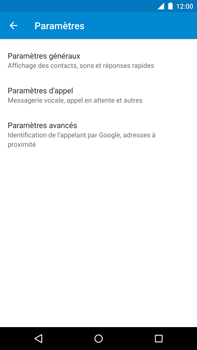 Motorola Nexus 6 - Messagerie vocale - Configuration manuelle - Étape 6