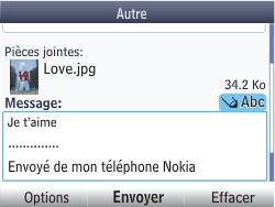 Nokia Asha 201 - E-mail - envoyer un e-mail - Étape 16