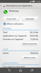 Sony Xperia Z2 - Applications - Supprimer une application - Étape 6