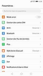 Huawei P10 Lite - Internet et connexion - Partager votre connexion en Wi-Fi - Étape 3