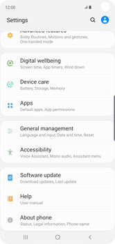 Samsung Galaxy S10 - Device - Factory reset - Step 5