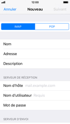 Apple iPhone 5s - iOS 11 - E-mail - Configurer l