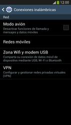 Samsung Galaxy S4 - Funciones básicas - Activar o desactivar el modo avión - Paso 5