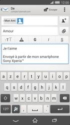 Sony Xperia Z2 - E-mails - Envoyer un e-mail - Étape 10