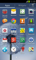 Samsung S7560 Galaxy Trend - E-mail - Handmatig instellen - Stap 4