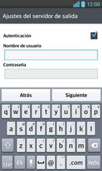 LG Optimus L5 II - E-mail - Configurar correo electrónico - Paso 14