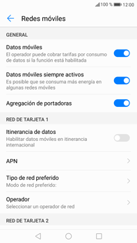 Huawei Mate 9 - Internet - Configurar Internet - Paso 5