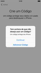 Apple iPhone iOS 9 - Primeiros passos - Como ativar seu aparelho - Etapa 18
