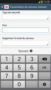 Samsung Galaxy Note 3 - E-mails - Ajouter ou modifier un compte e-mail - Étape 10