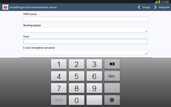 Samsung P5220 Galaxy Tab 3 10-1 LTE - E-mail - Handmatig instellen - Stap 11