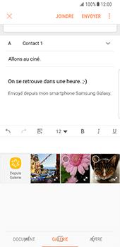Samsung Galaxy S8 - E-mails - Envoyer un e-mail - Étape 13