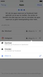 Apple iPhone 6 met iOS 9 (Model A1586) - Privacy - Privacy instellingen van Facebook aanpassen - Stap 17