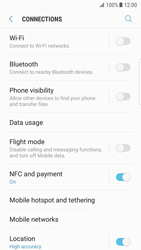 Samsung Galaxy S7 edge - Android Nougat - WiFi and Bluetooth - Setup Bluetooth Pairing - Step 5