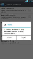 LG Optimus L9 - Internet - Activar o desactivar la conexión de datos - Paso 7