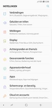 Samsung Galaxy Note 8 (N950) - Internet - Uitzetten - Stap 5