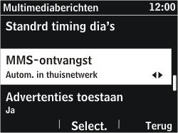 Nokia Asha 302 - MMS - probleem met ontvangen - Stap 9