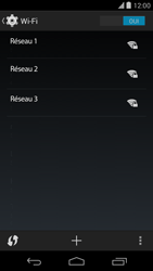LG D821 Google Nexus 5 - Wifi - configuration manuelle - Étape 5