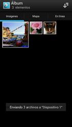 Sony Xperia J - Bluetooth - Transferir archivos a través de Bluetooth - Paso 11