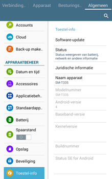 Samsung Galaxy Tab4 8.0 4G (SM-T335) - Software updaten - Update installeren - Stap 6