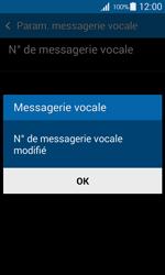 Samsung G357 Galaxy Ace 4 - Messagerie vocale - configuration manuelle - Étape 9