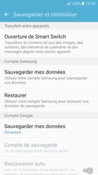 Samsung Galaxy S7 - Aller plus loin - Restaurer les paramètres d'usines - Étape 5
