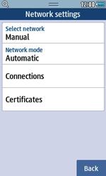 Samsung S5250 Wave 525 - Internet - Manual configuration - Step 6