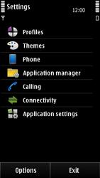 Nokia E7-00 - Voicemail - Manual configuration - Step 4