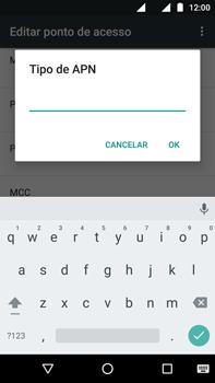 Motorola Moto G (4ª Geração) - Internet (APN) - Como configurar a internet do seu aparelho (APN Nextel) - Etapa 17