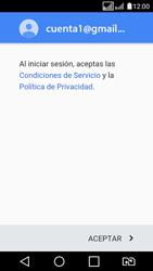 LG K4 (2017) - E-mail - Configurar Gmail - Paso 12