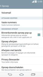 LG G3 S (D722) - Voicemail - Handmatig instellen - Stap 5