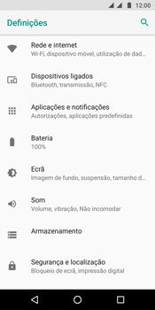 Motorola Moto G6 - Internet no telemóvel - Como ativar os dados móveis -  4