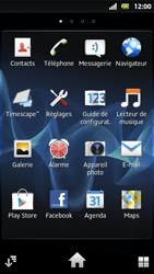 Sony MT27i Xperia Sola - Internet - Navigation sur Internet - Étape 2