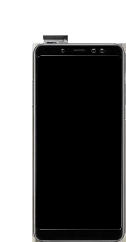 Samsung galaxy-a8-2018-sm-a530f-android-pie - Instellingen aanpassen - SIM-Kaart plaatsen - Stap 8