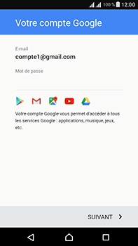 Sony Xperia L1 - Applications - Créer un compte - Étape 16